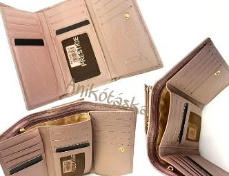 Prestige bőr női pénztárcák