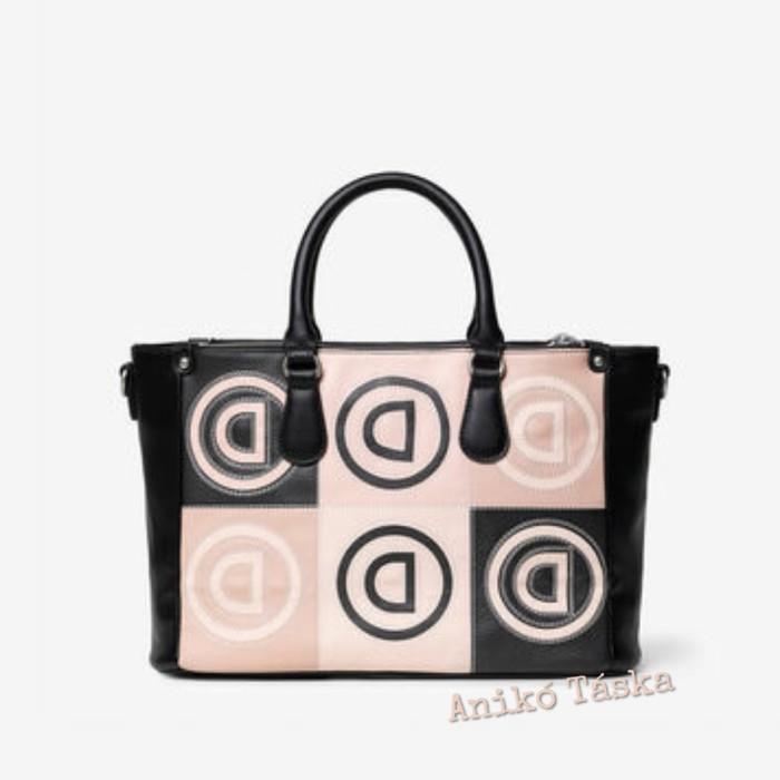 Desigual női táska D mintás plusz vállpánttal