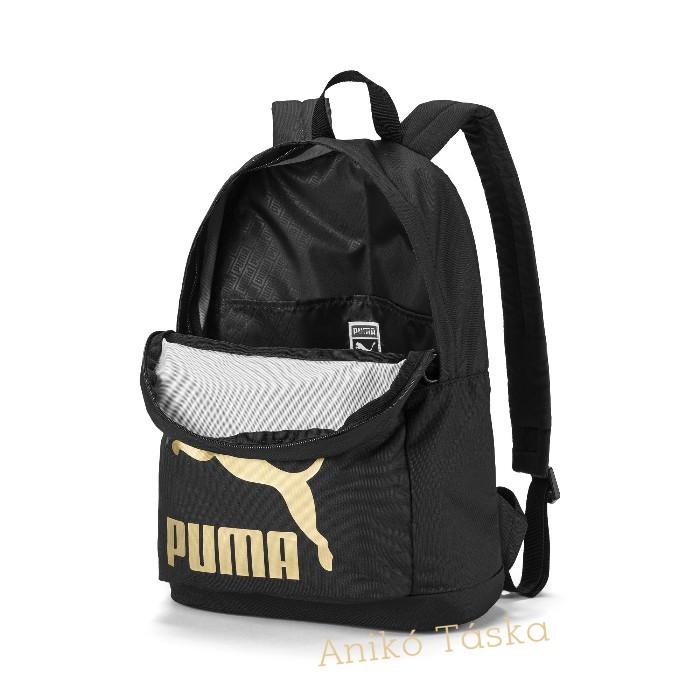 Puma hátizsák eredeti stílus fekete
