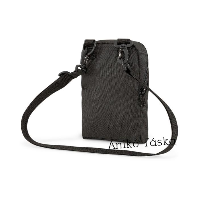 Puma mini oldaltáska fekete levehető pántos