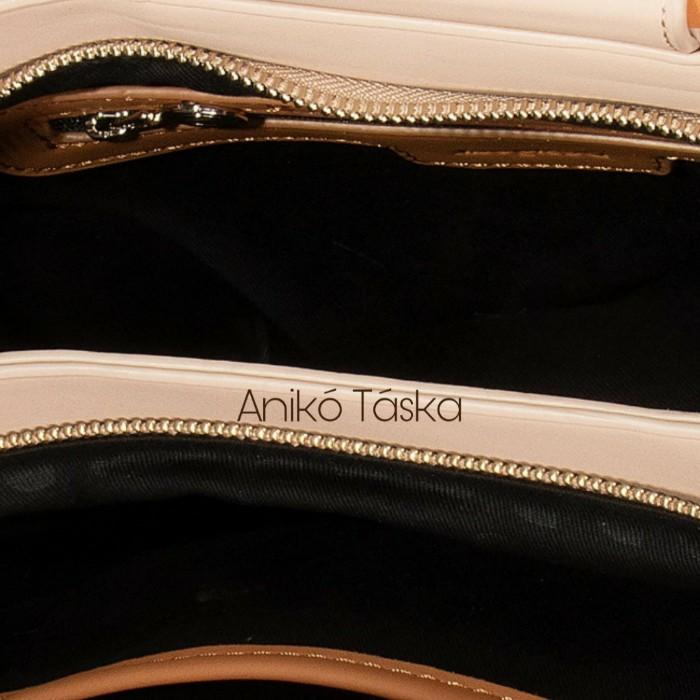 Desigual női táska bambusz füles bézs drapp