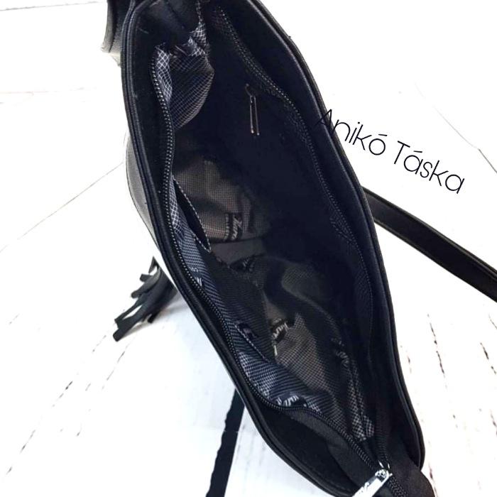 Karen női lapos oldal táska fekete barna