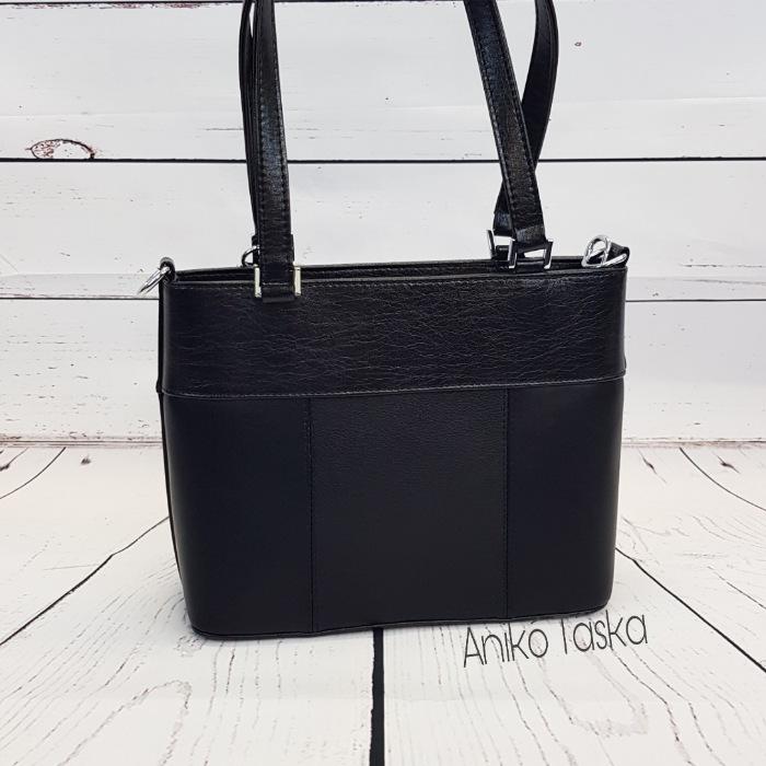 Karen női táska kis  szögletes kézi táska fekete 2248