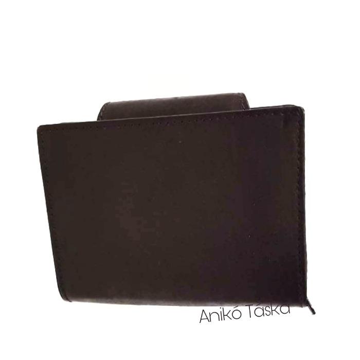 S. BELLMONTE kártyatartós belső patentos pénztárca barna