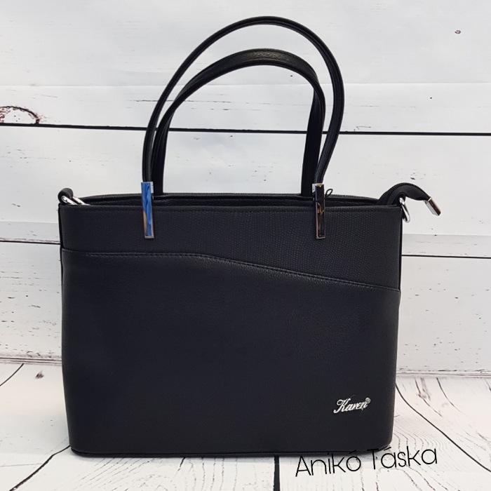 Karen női táska kis kézi táska fekete D444