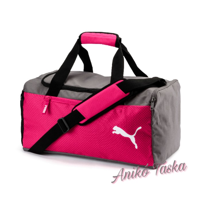 Puma közepes méretű sporttáska rózsaszín szürke