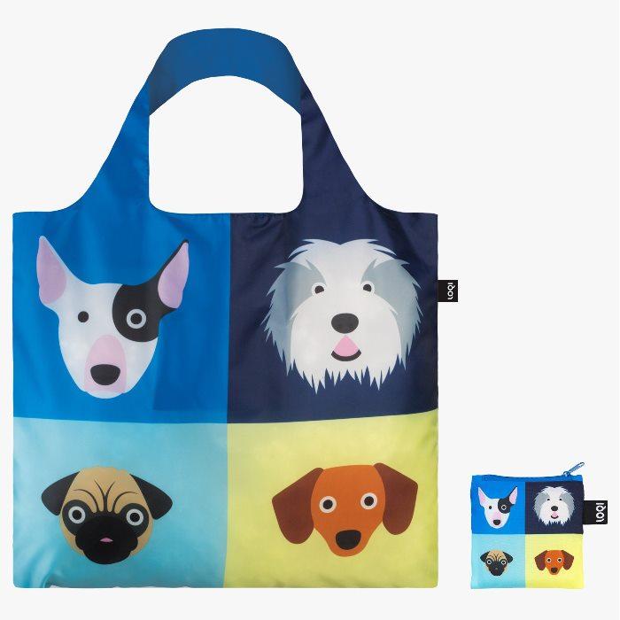 LOQI bevásárló táska kutyák