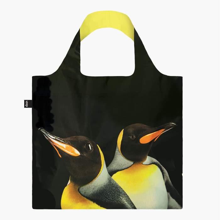 LOQI bevásárló táska király pingvin