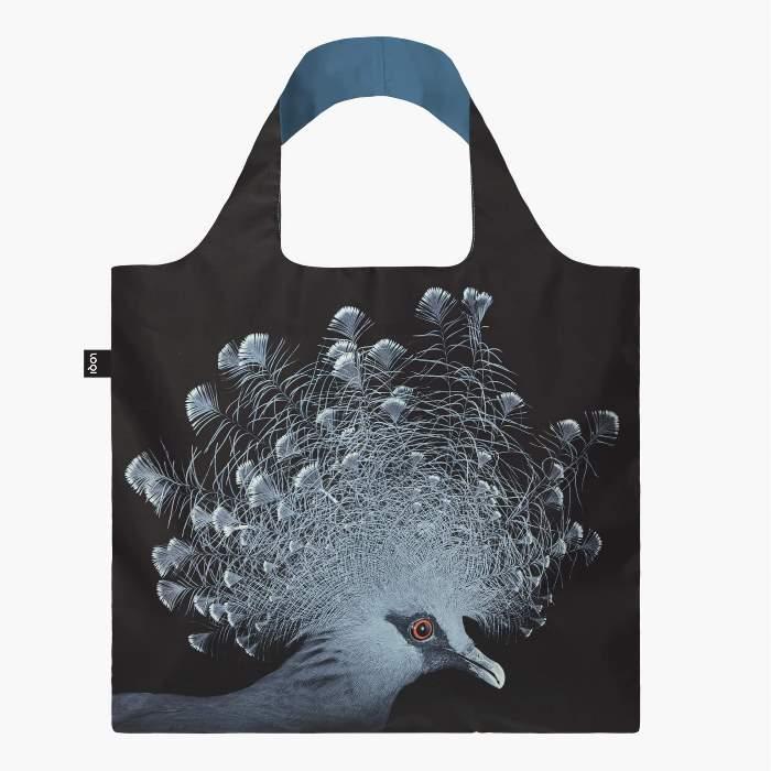 LOQI bevásárló táska koronás galamb