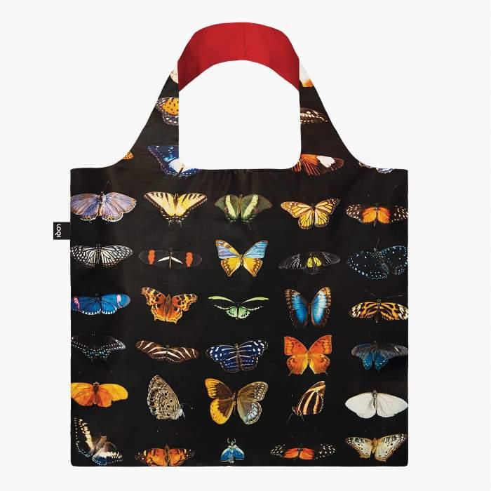 LOQI bevásárló táska kutyák pillangó