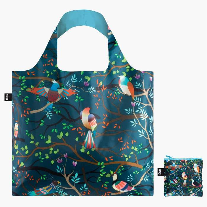 LOQI bevásárló táska madarak