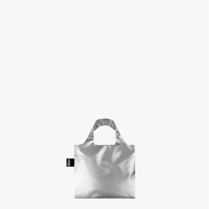 LOQI bevásárló táska mini ezüst