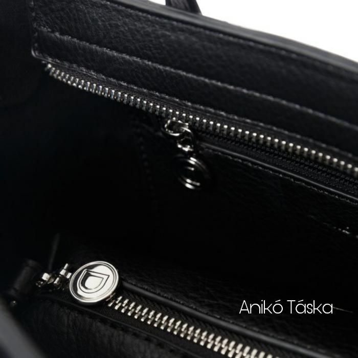Új Desigual shopper női táska feliratos fehér