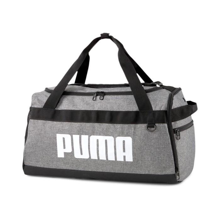 Új Puma S kis méretű egyszerű sporttáska hevederes szürke