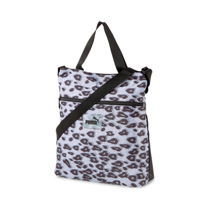 Új Puma könnyed shopper táska állítható vállpántos leopárd mintával
