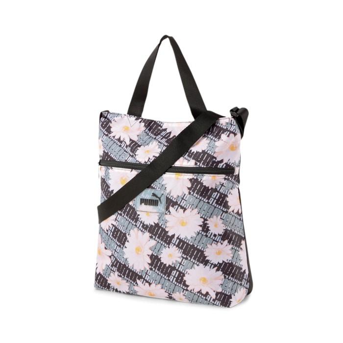 Új Puma könnyed virágos shopper táska állítható vállpántos