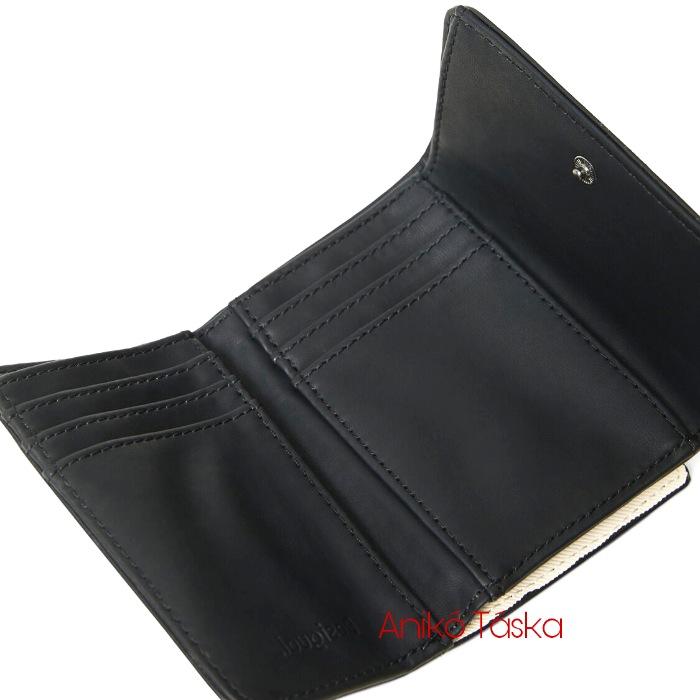 Új Desigual piros pénztárca kis cipzáras fekete pöttyös