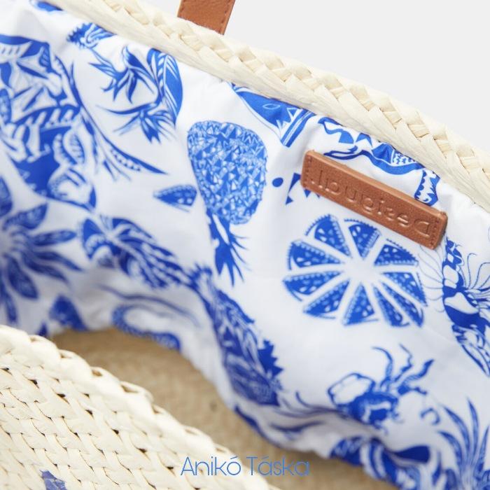 Desigual gyékény strand táska