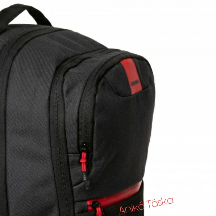 HeavyTools kulacstartós laptop hátizsák Element fekete