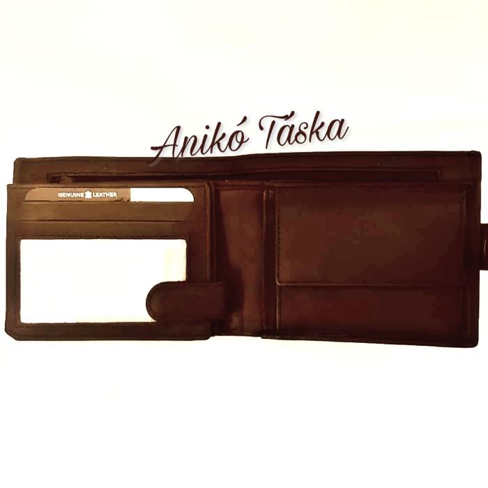 Kadro lapozós kártyatartós bőr férfi pénztárca barna