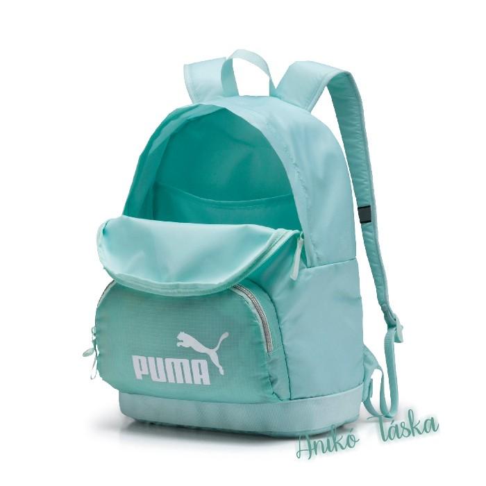 Puma retró hátizsák könnyű víztiszta zöld