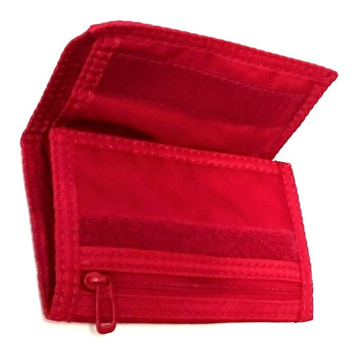 Nike tépőzáras sportos pénztárca piros