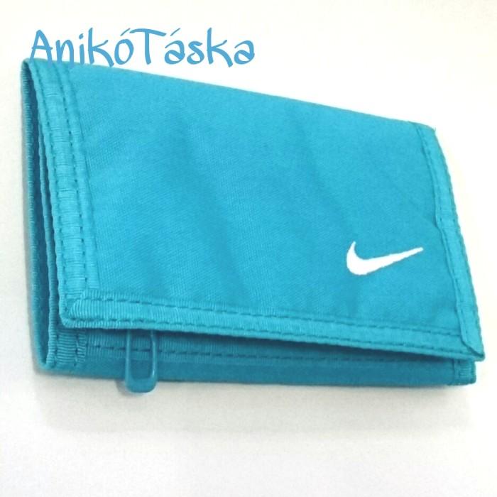 Nike tépőzáras sportos pénztárca világoskék