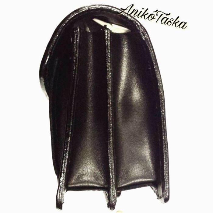 Olasz bőr autós táska férfi fekete