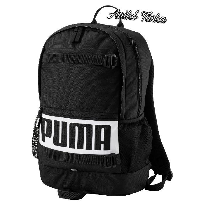 Puma sok zsebes háti táska gördeszka tartós fekete