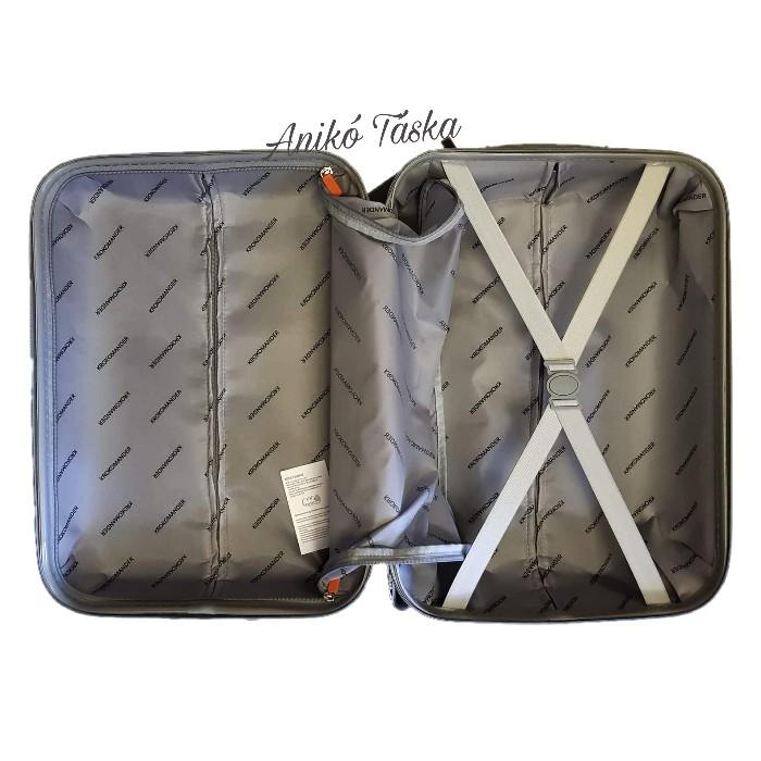 Kézipoggyász bőrönd fekete