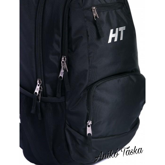 HeavyTools hátitáska laptoptarós fekete