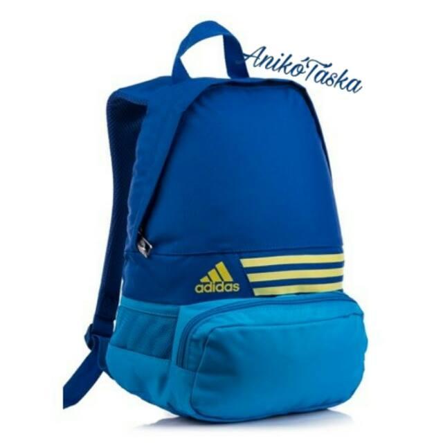 Adidas kis kulacstartós háti táska kék